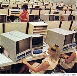 Vintage IBM computers