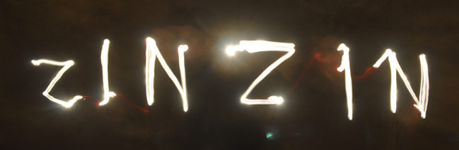 Zinzin light drawing