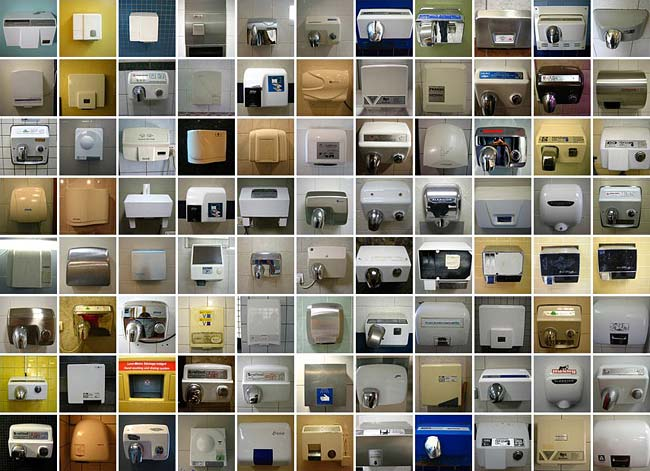 ... : Douglas Wilson's Flickr set, Hand dryers from around the world