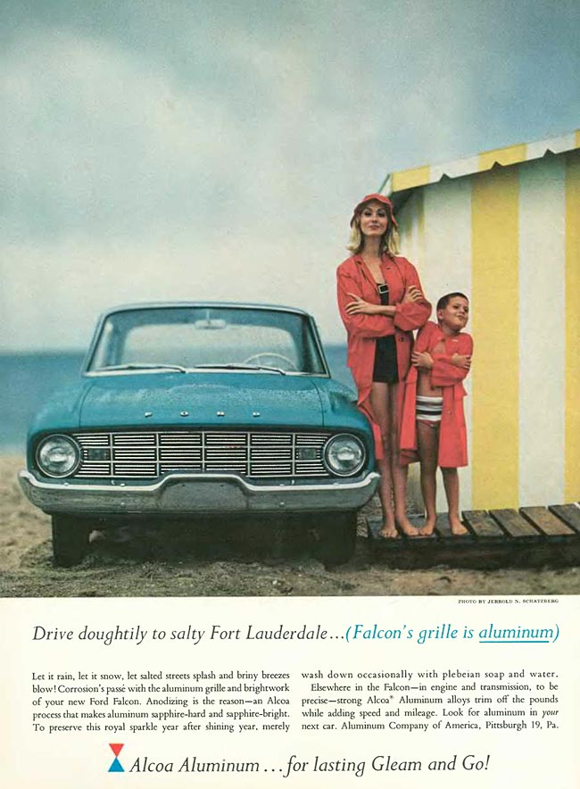 Alcoa / Ford Falcon ad - 1960