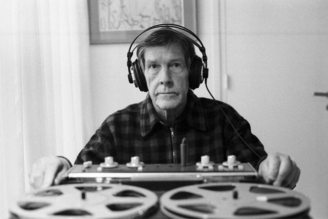 john cage, paris 1981