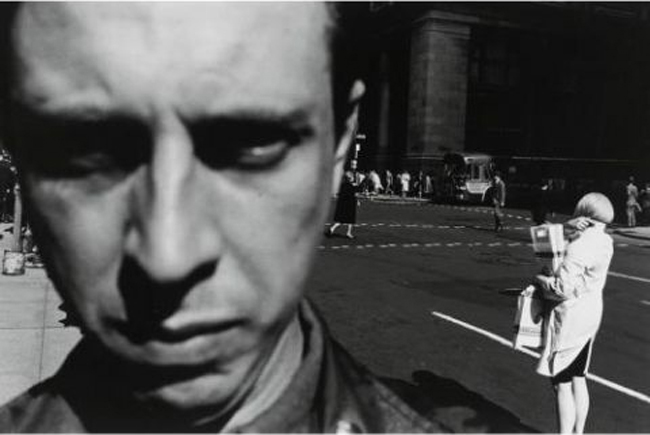 New York City (Self-Portrait) by Lee Friedlander