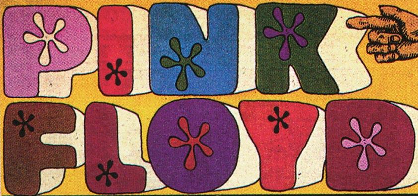 Pink Floyd - vintage logo