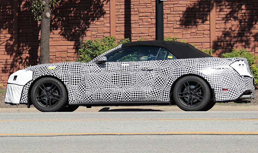 2018 Ford Mustang test mule