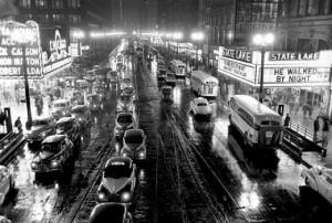 Stanley Kubrick Chicago State Street 1949