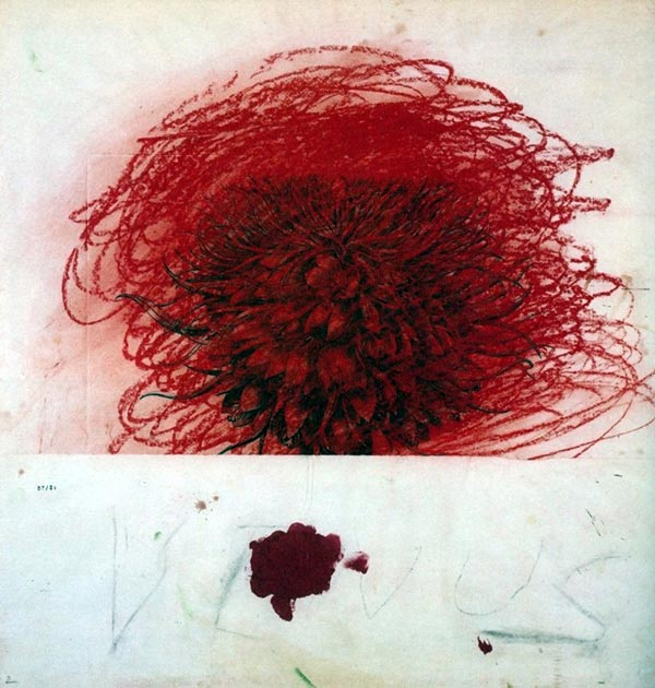 Cy Twombly - Pan II
