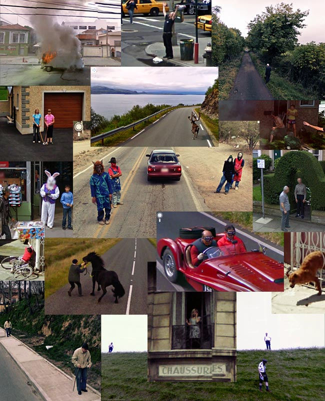 Street View collage