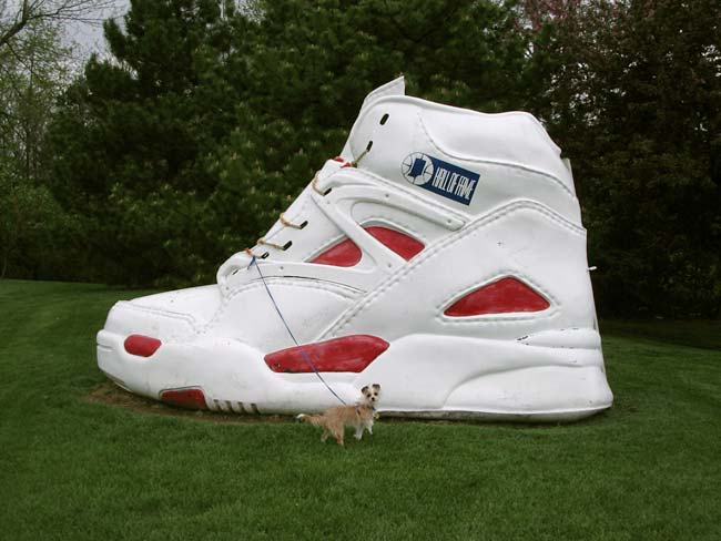 Anders Abner Reebok Pump Tennis Shoe 1991