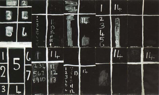 Colin McCahon, Teaching aids 2 (July), 1975
