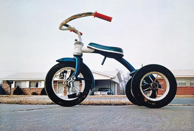 William Eggleston - Tricycle