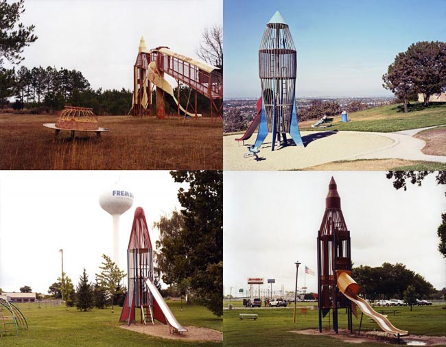 Cold War Era Rocket Ship Playgrounds