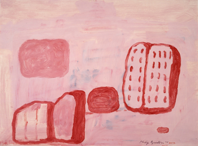 Guston book ball and shoe 1971