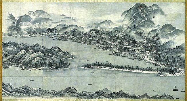 Sesshu Toyo - View of Ama-no-Hashidate