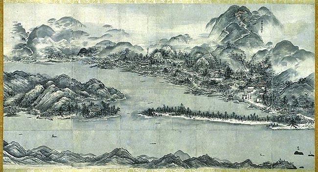 Sesshu Toyo - View of Ama-no-Hashidate
