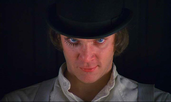 Alex from Stanley Kubrick's, A Clockwork Orange
