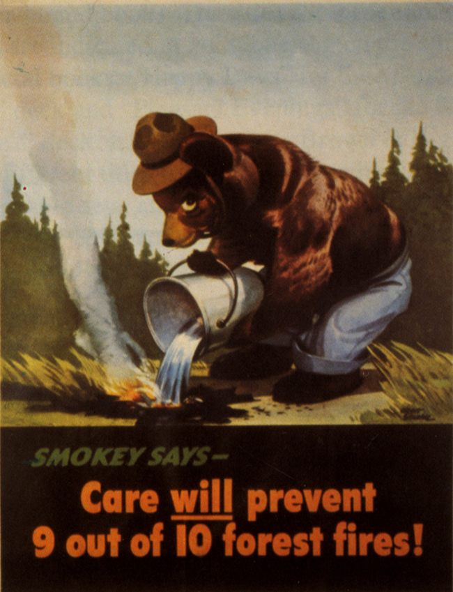 United States Forest Service's Smokey Bear