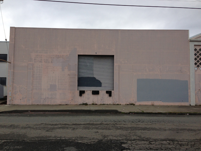 Facade: Flesh Colored Windowless Treatment by The Mansbridge Directive, 2013
