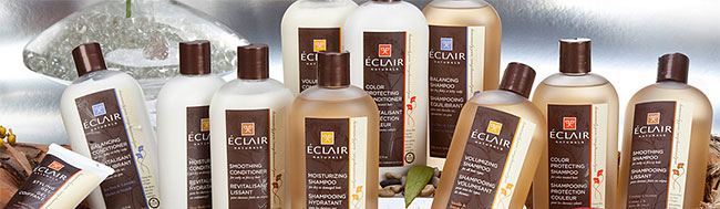 Eclair hair care products