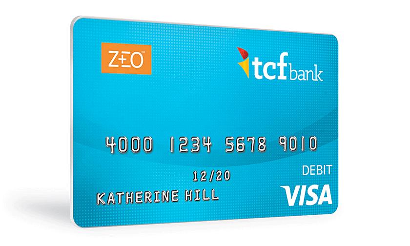 ZEO bank card